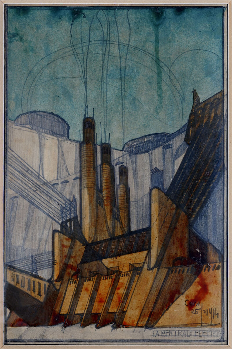 The Power Plant, 1914, Antonio Sant'Elia