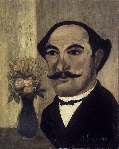 Portrait of Henri Rousseau