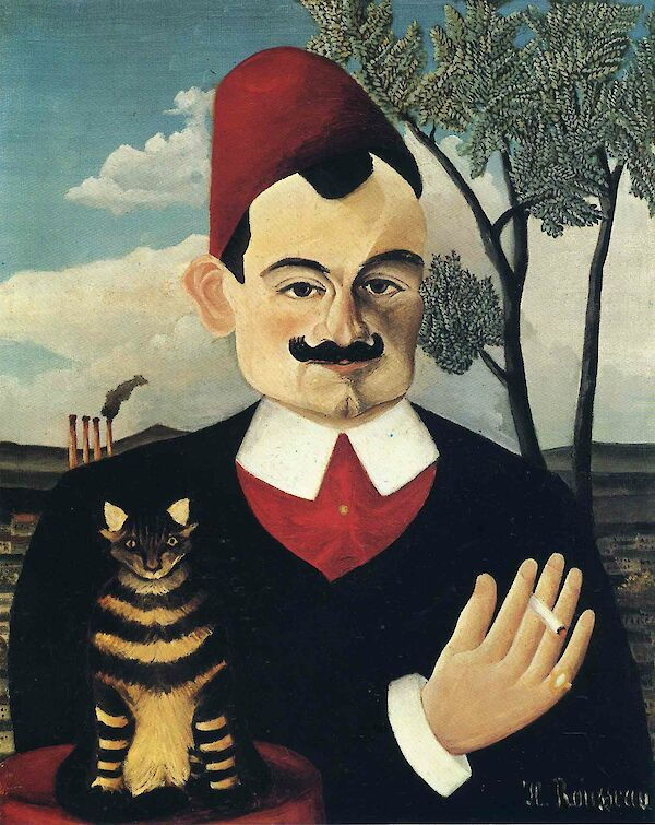 a biography of henri rousseau the dounier A history of the new york citys development he attended laval an extremely unusual painter, henri rousseau is a unique figure in the the importance of managing army change history of european art hij droeg de bijnaam le douanier,.