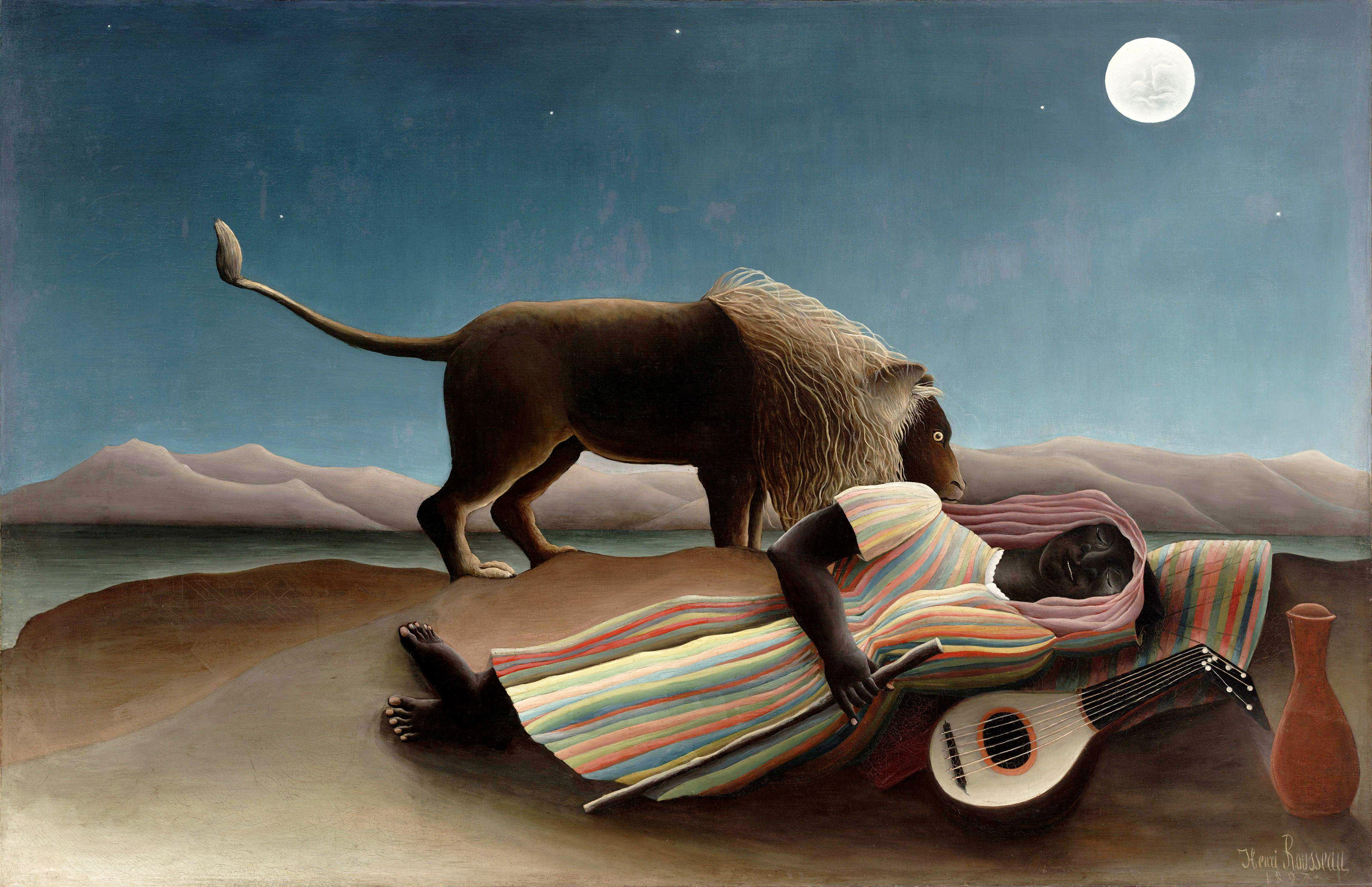 The Sleeping Gypsy, 1897 — Henri Rousseau