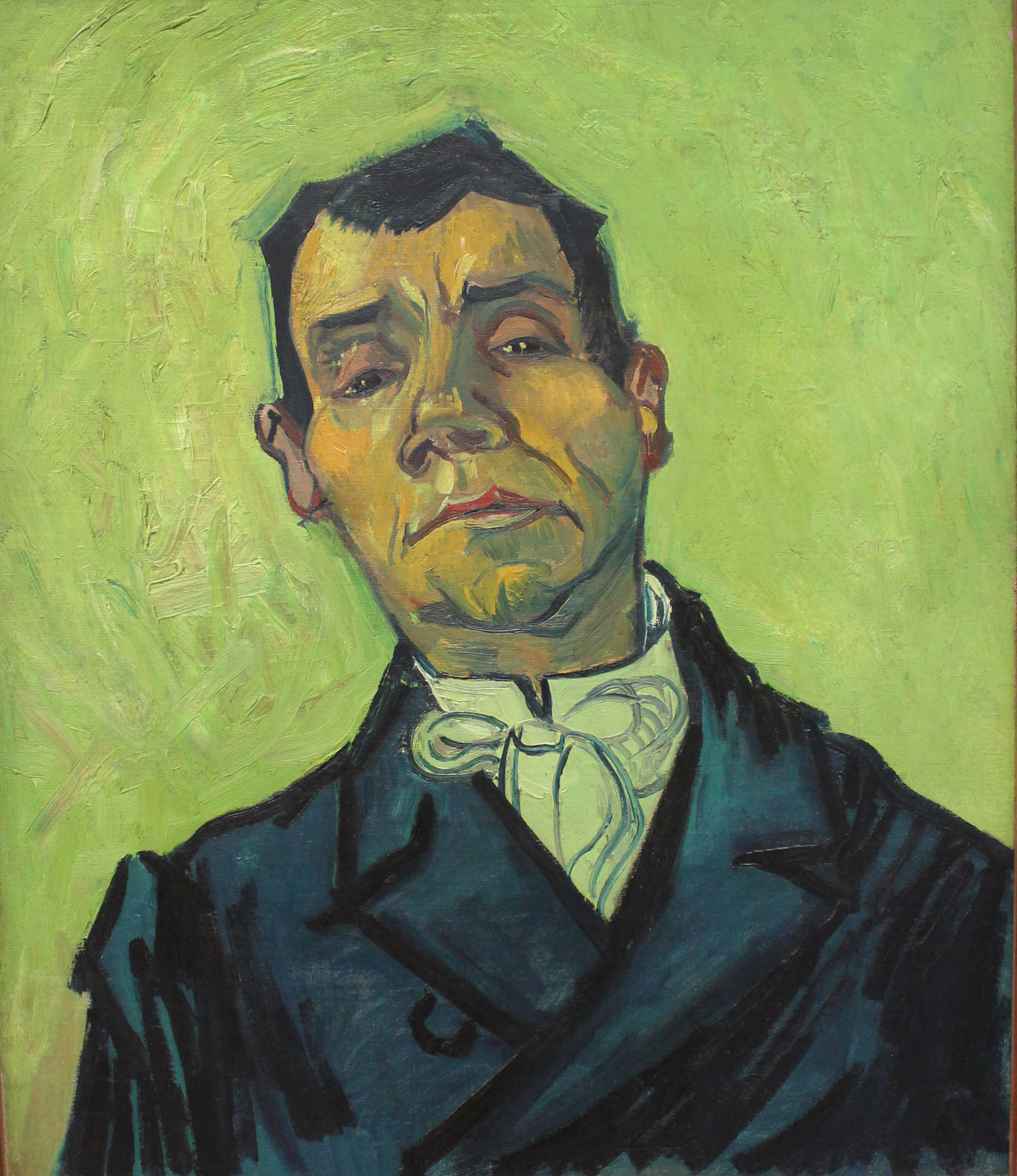 Portrait of Joseph-Michel Ginoux, 1888 — Vincent Van Gogh,