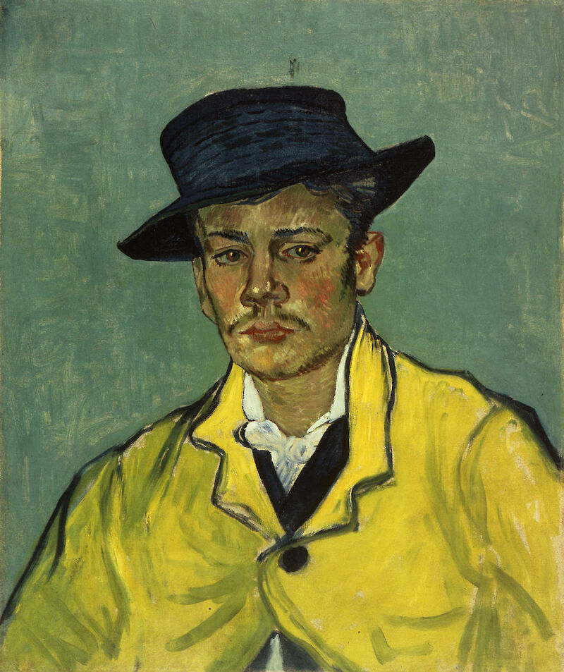 Portrait of Armand Roulin, 1888, Vincent Van Gogh