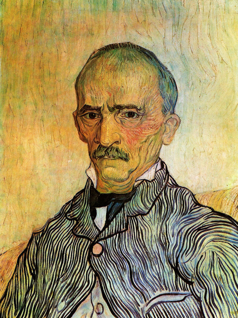 Portrait of Trabuc - Attendant at Saint Paul Hospital