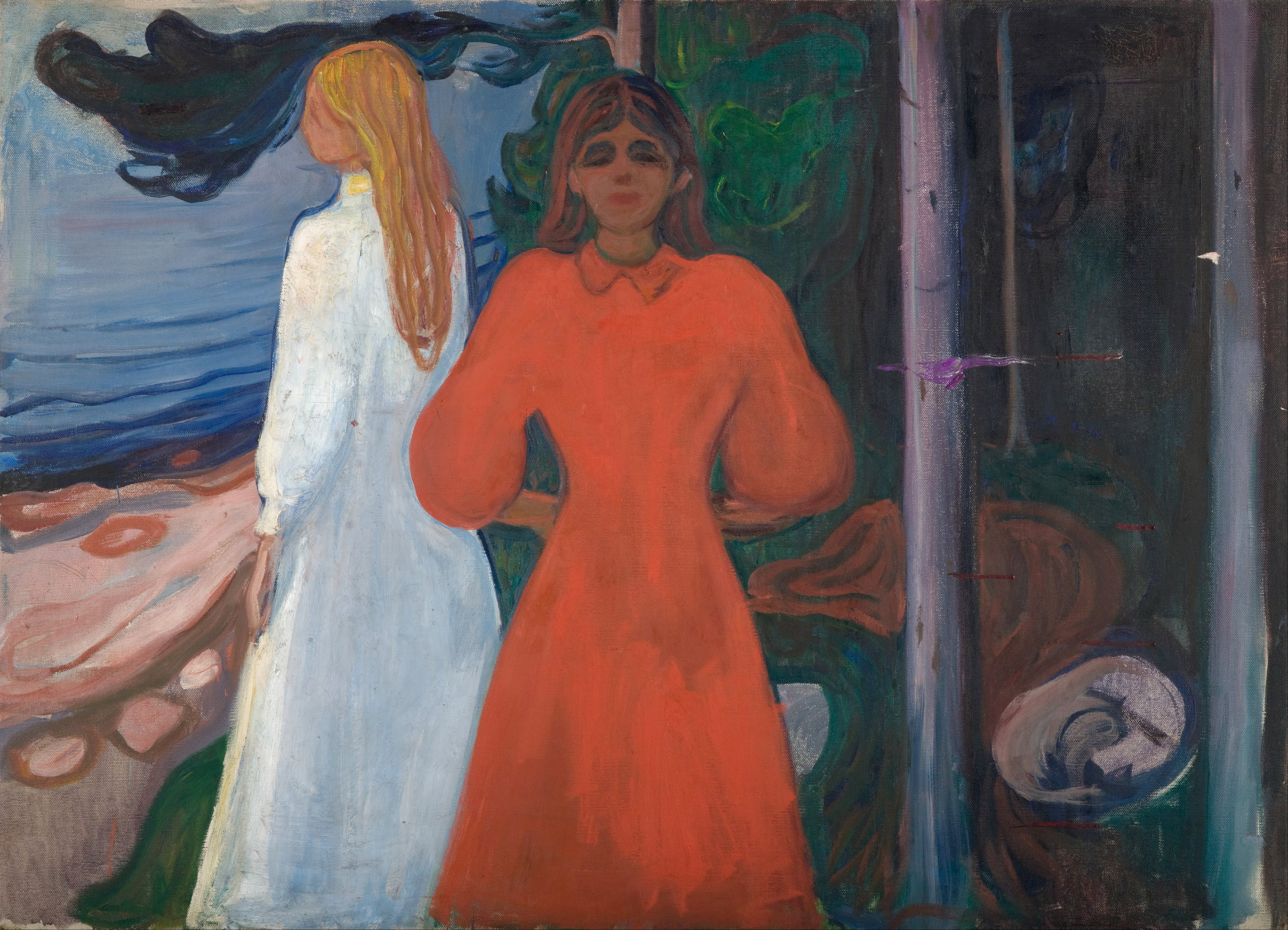 Red and White, 1900 — Edvard Munch