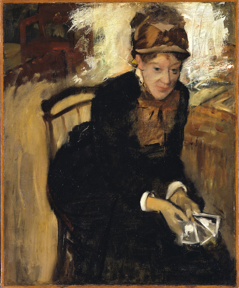 Mary Cassatt, 1884, Edgar Degas