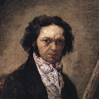 Portrait of Francisco de Goya y Lucientes
