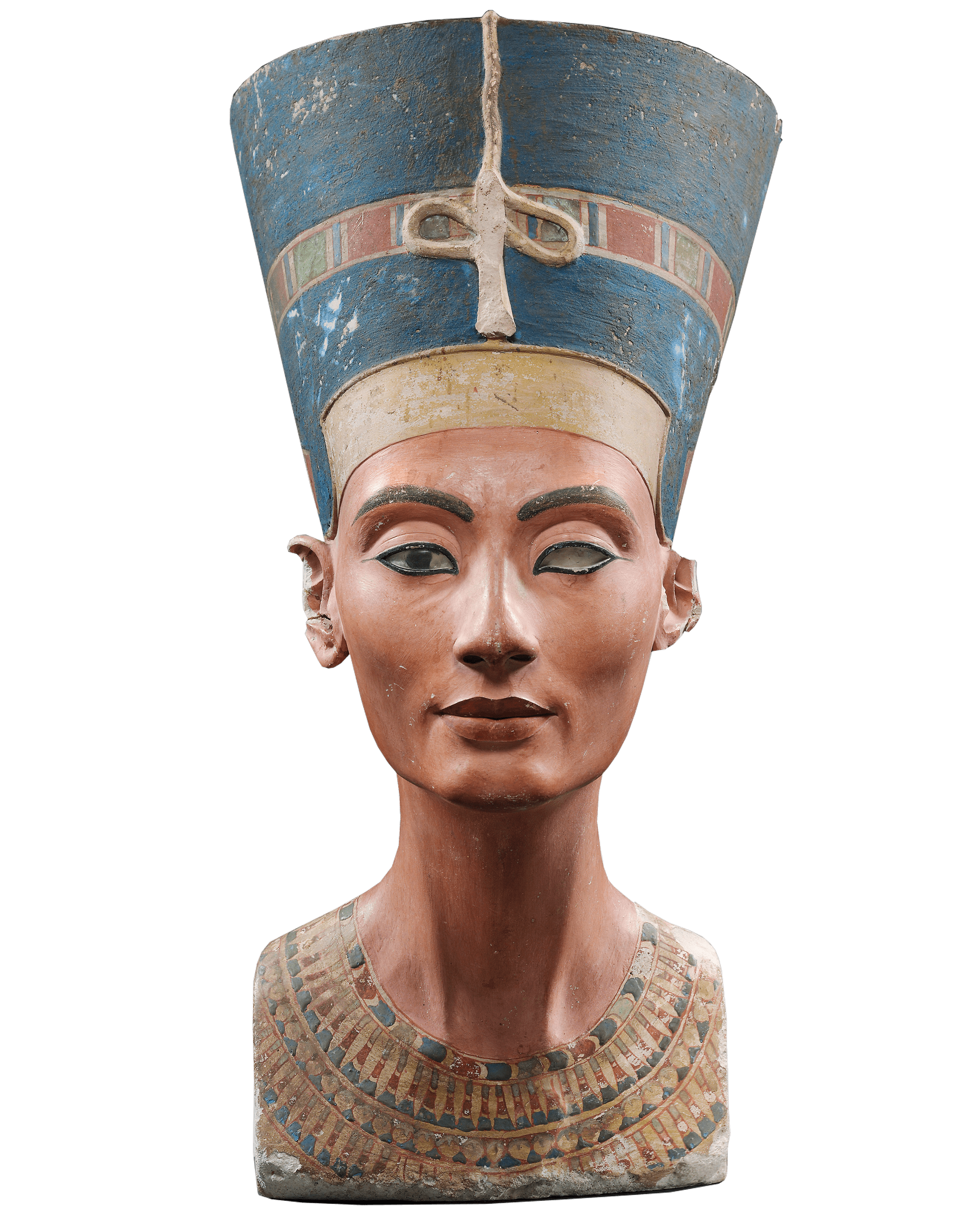 Bust of Nefertiti, 1340 BCE — Ancient Egypt, Neuen Museum