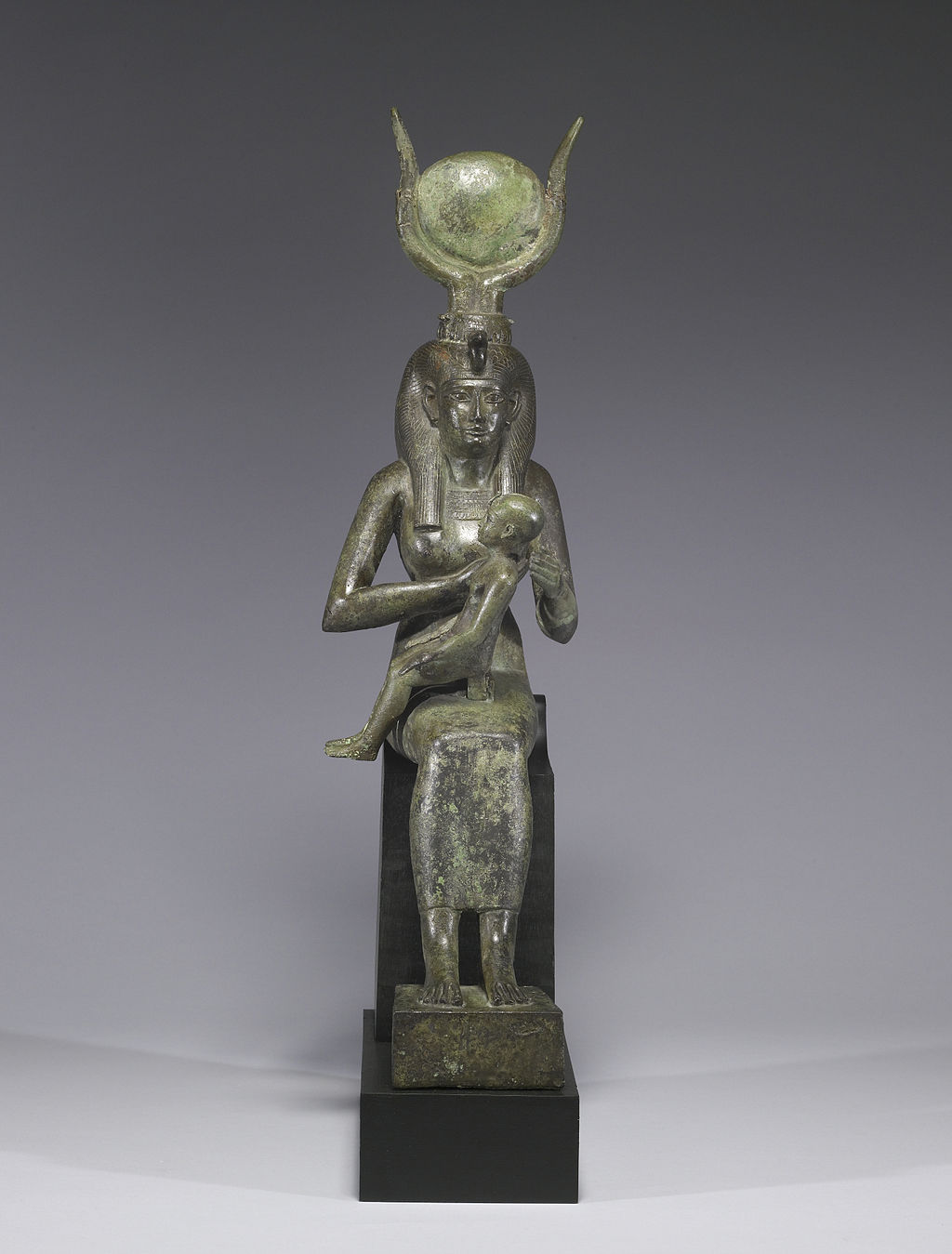 Isis and Horus, 640 BCE — Ancient Egypt,