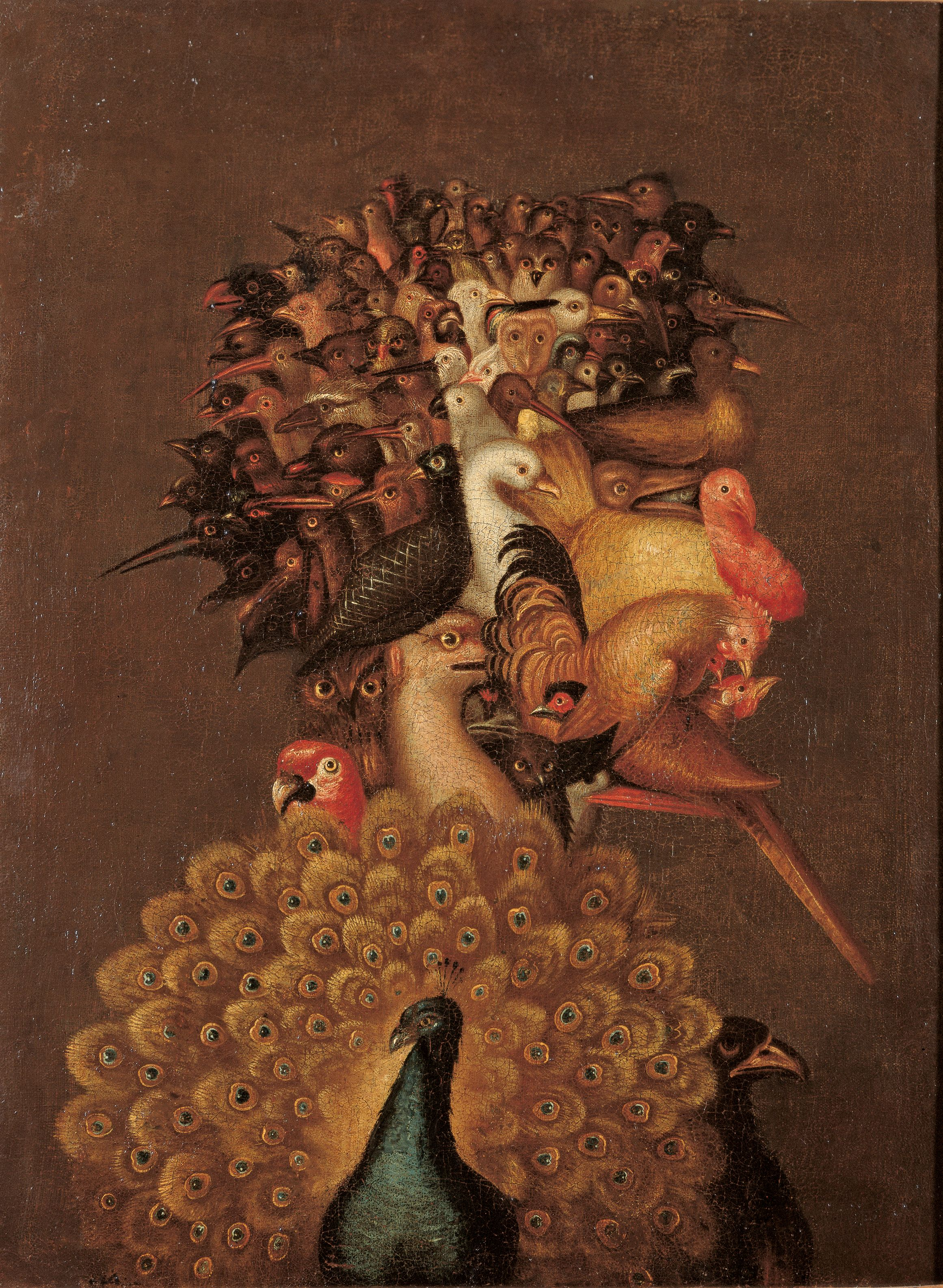 The Air, 1566 — Giuseppe Arcimboldo