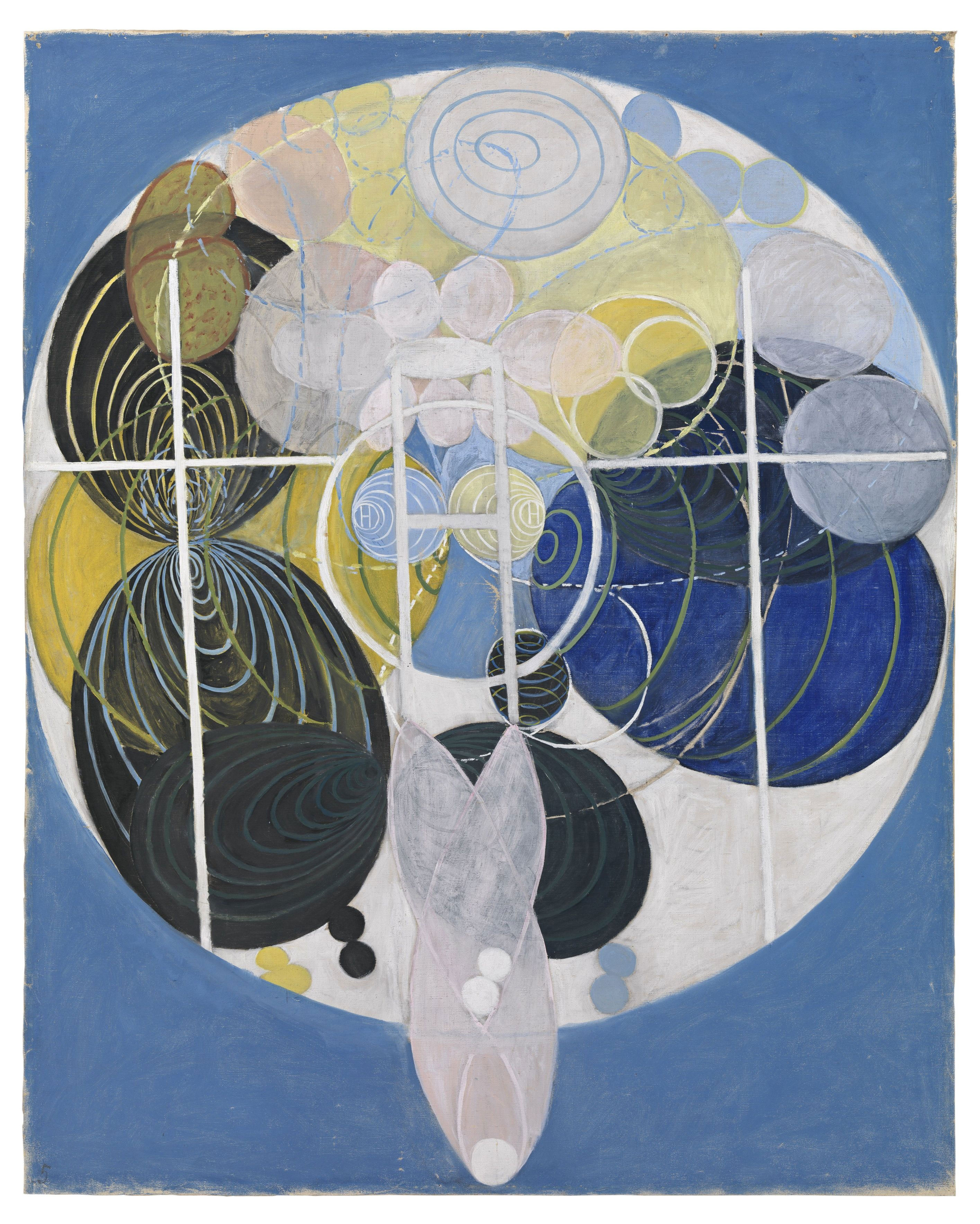 The Large Figure Paintings, No. 5 Group 3, 1907 — Hilma af Klint,
