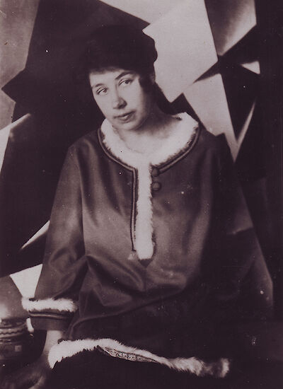 Portrait of Liubov Popova