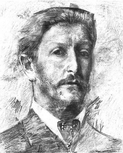 Portrait of Mikhail Vrubel