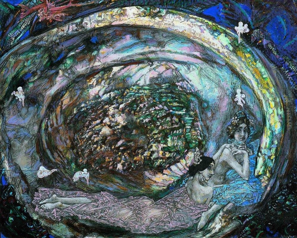Pearl Oyster, 1904 — Mikhail Vrubel