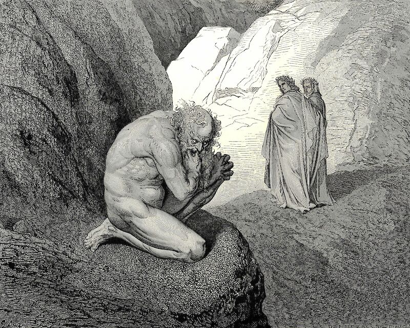 The Inferno, Canto 7, 1861, Gustave Doré