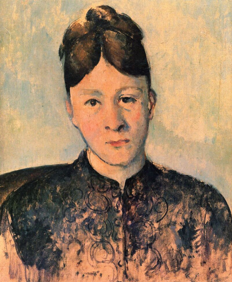Portrait of Madame Cezanne