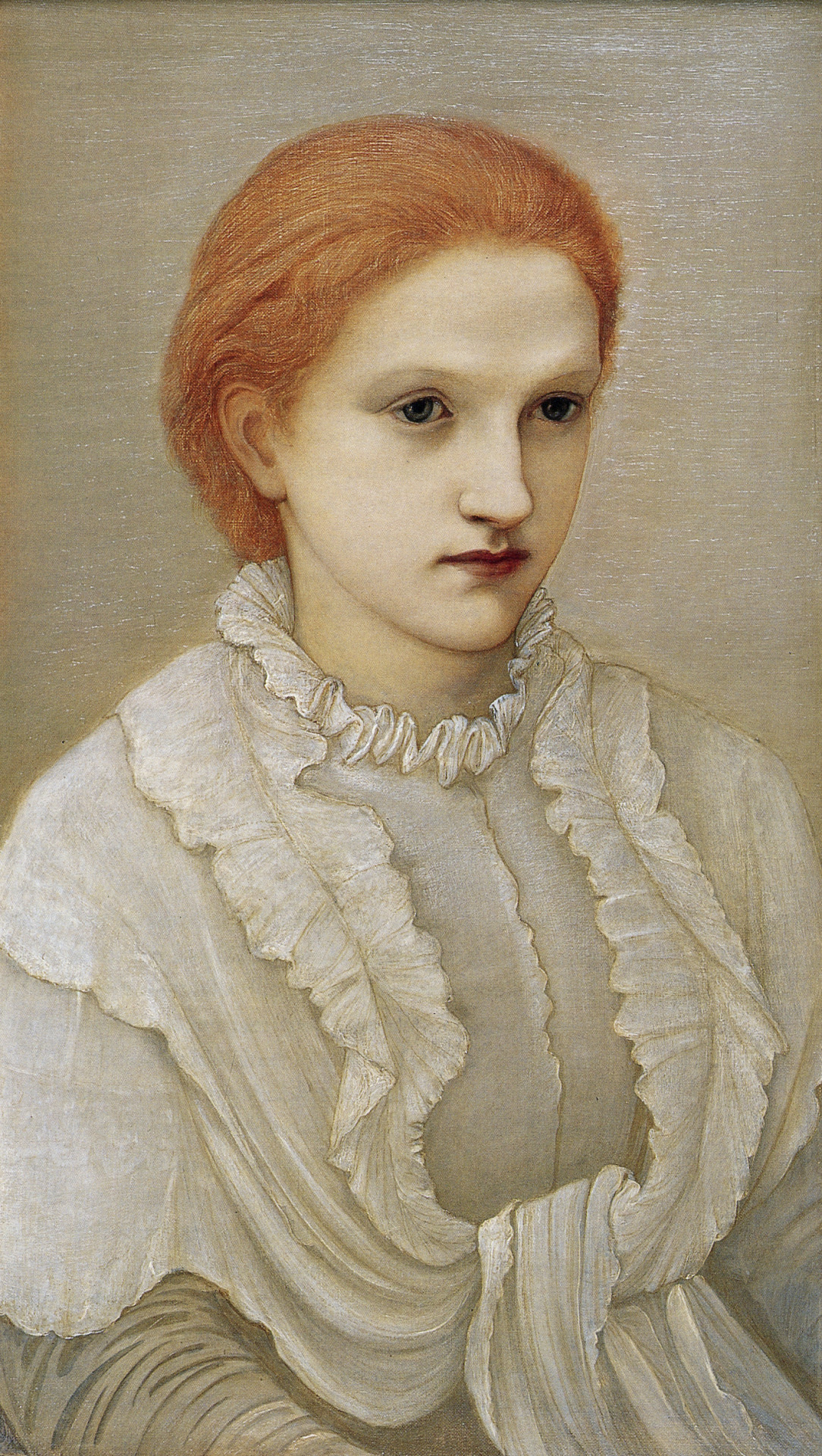 Portrait of Lady Frances Balfour, 1881 — Edward Burne-Jones