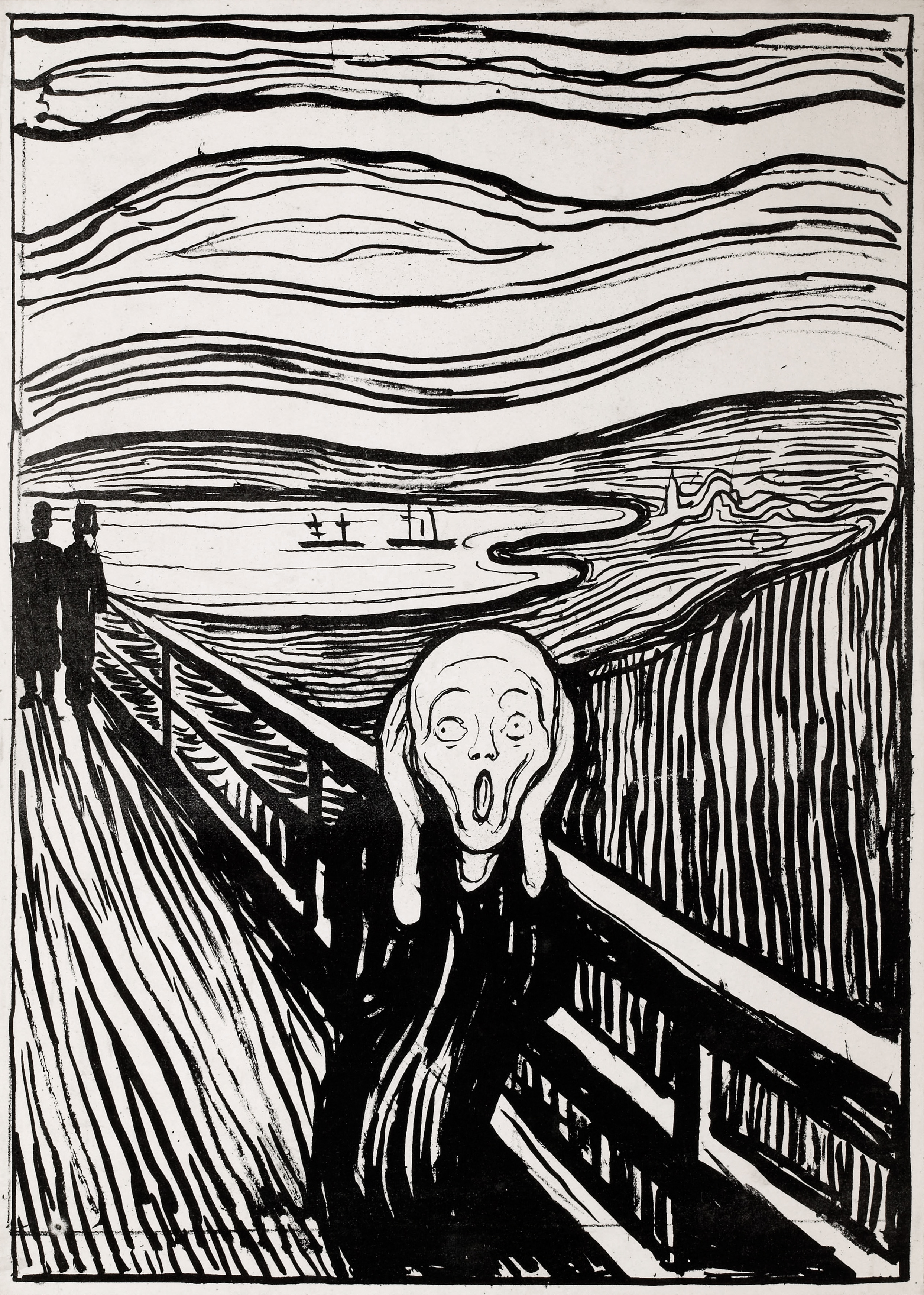 The Scream, 1895 — Edvard Munch,
