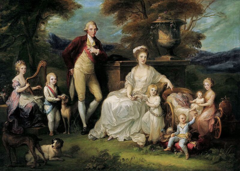 Ferdinand IV King of Naples and his Family, 1783, Angelica Kauffmann