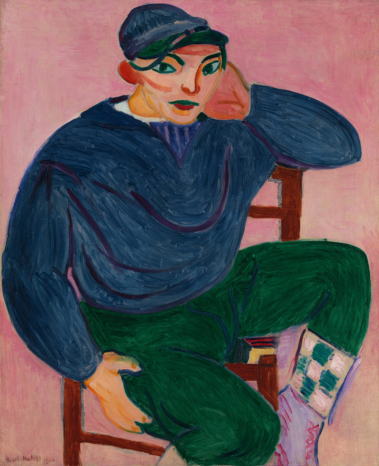The Young Sailor, 1906 — Henri Matisse,