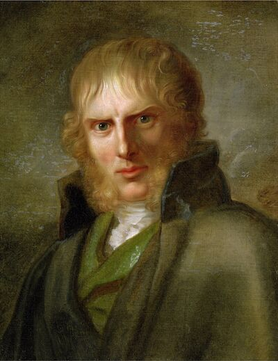 Portrait of Caspar David Friedrich