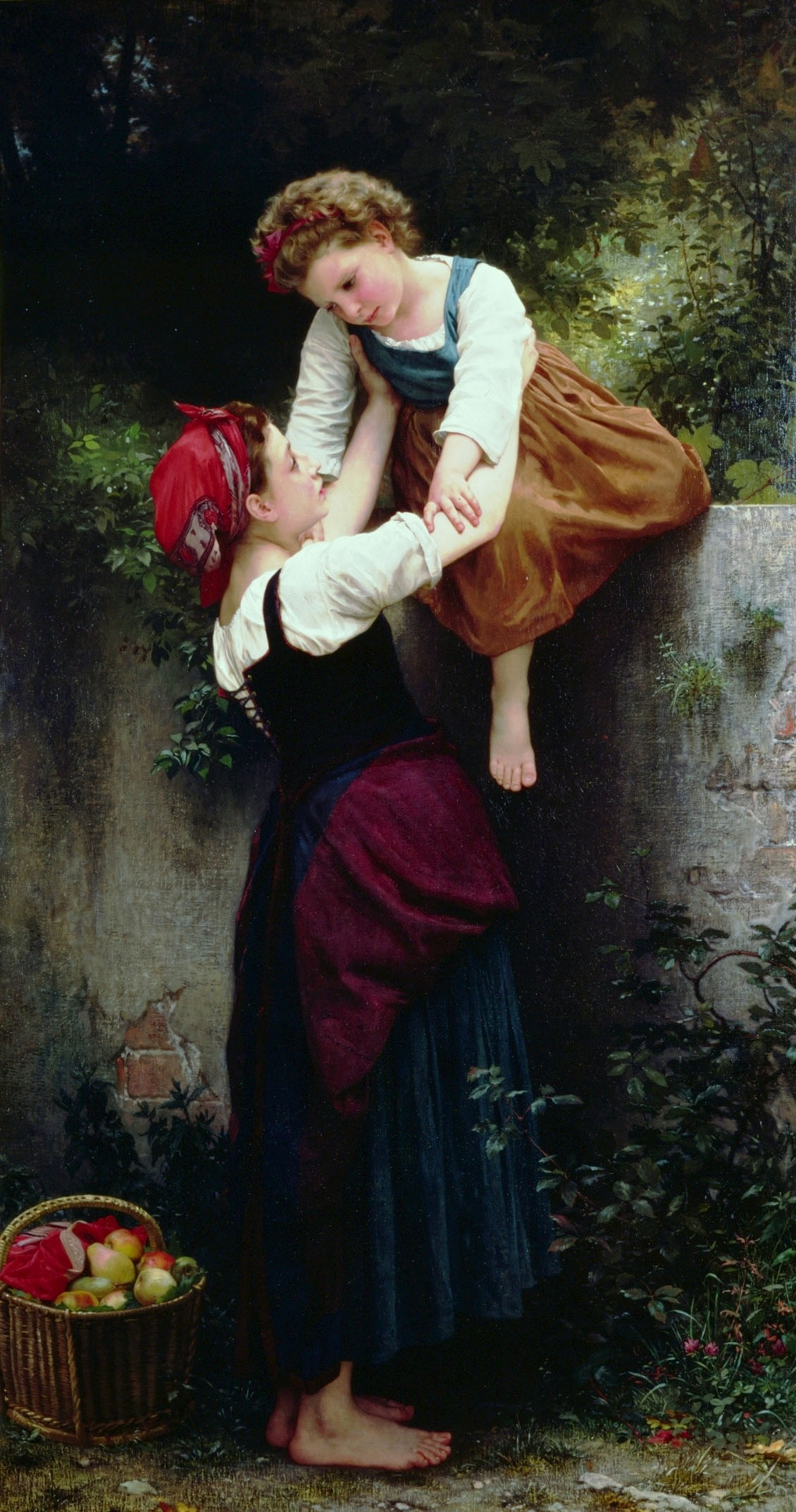 Petites Maraudeuses (Little Thieves), 1872 — William-Adolphe Bouguereau