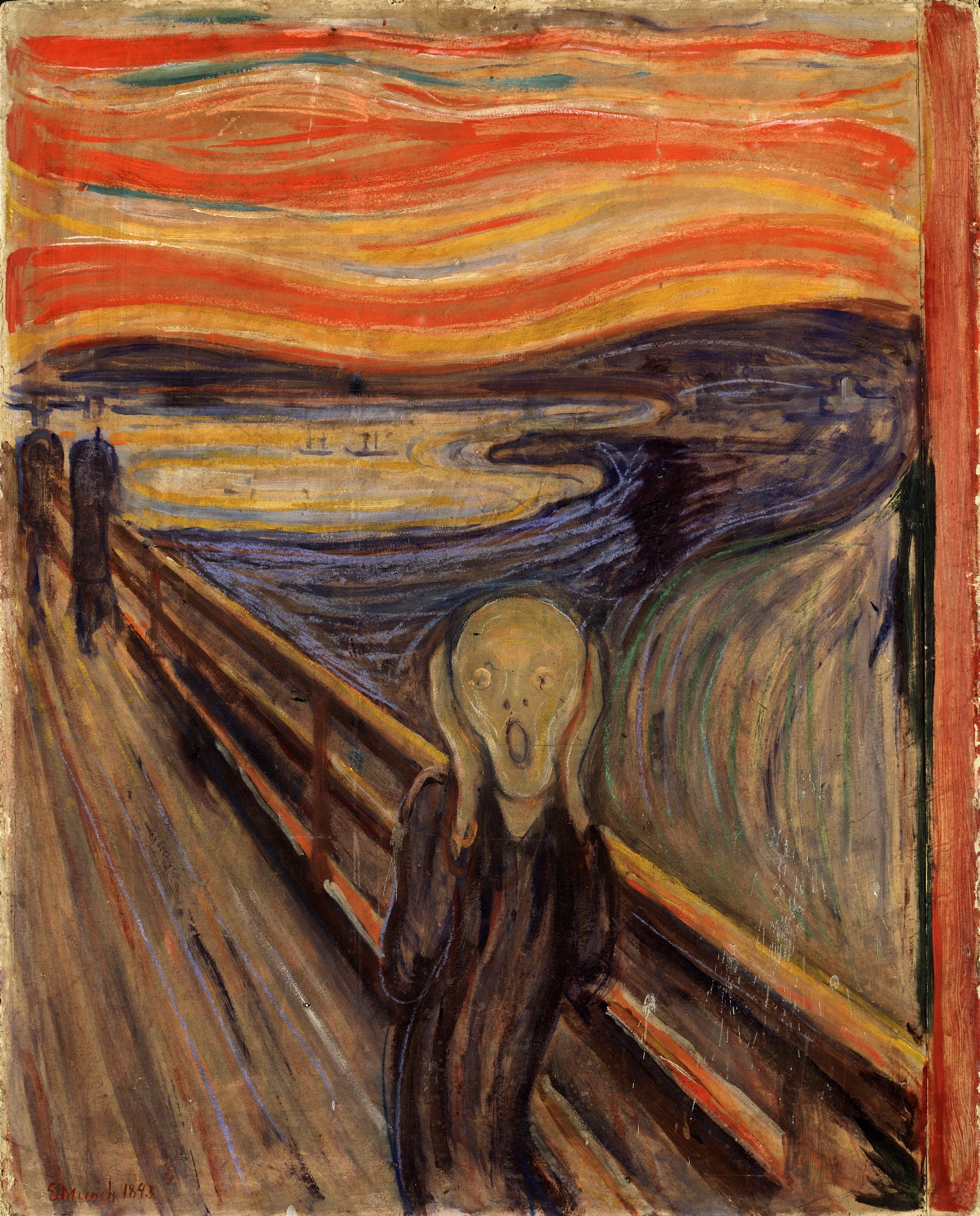 The Scream - 1893, 1893 — Edvard Munch,