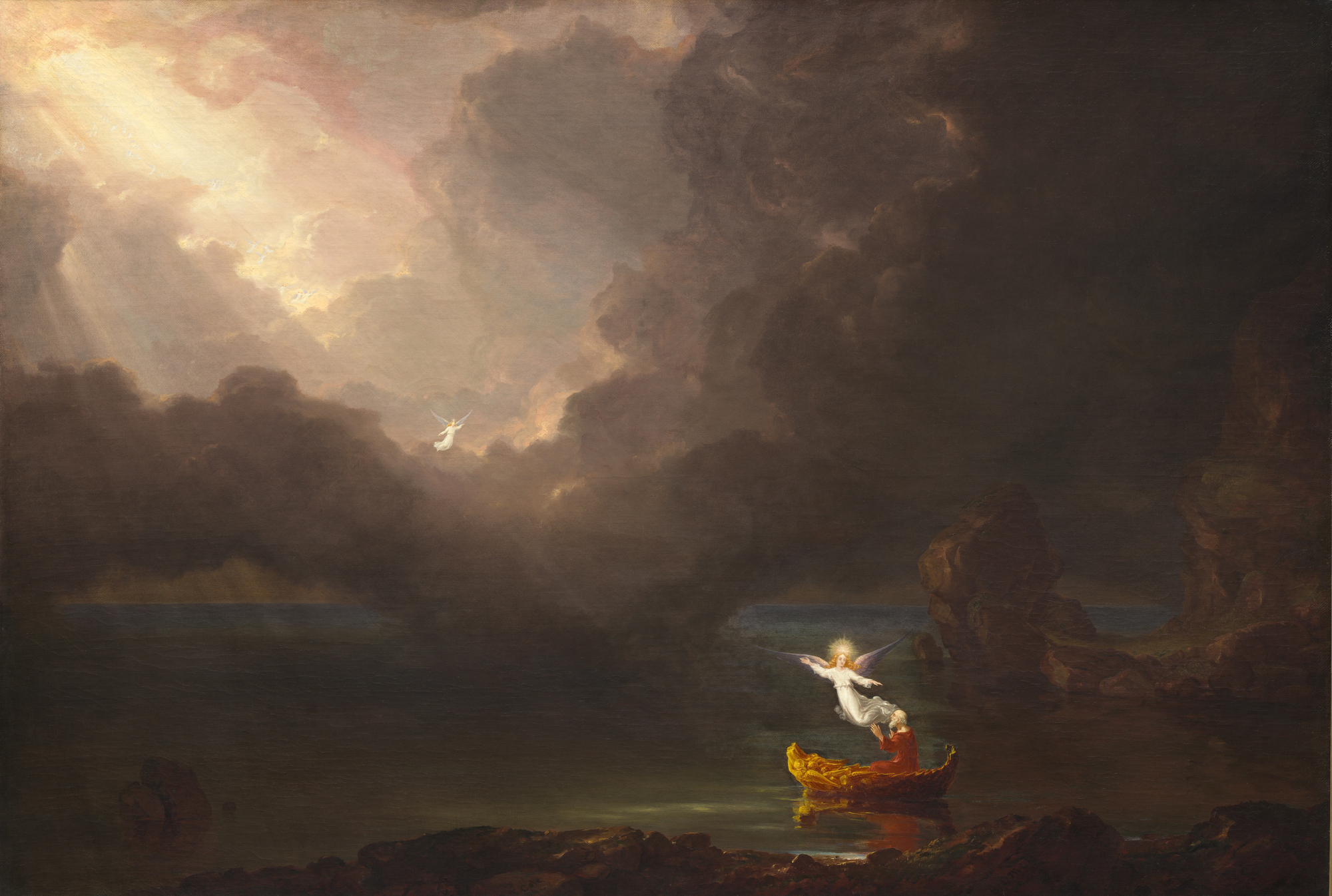 The Voyage of Life: Old Age, 1842 — Thomas Cole,