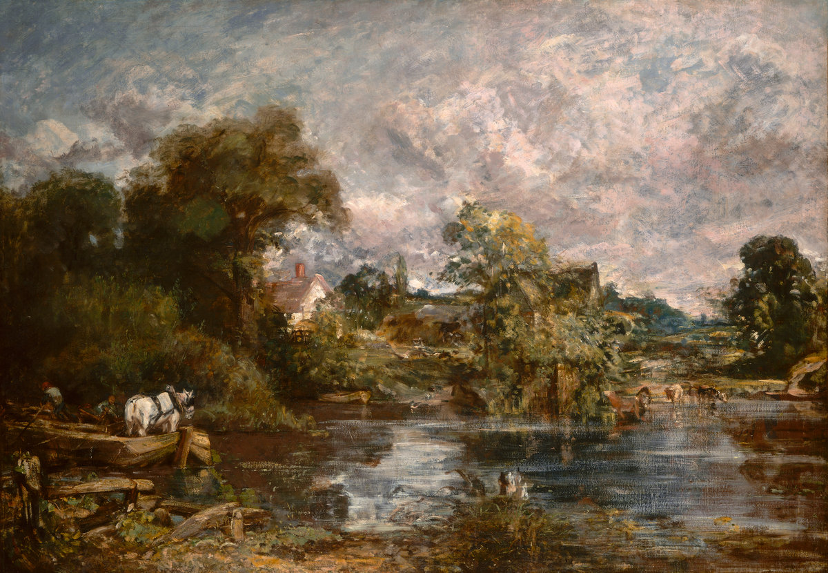 The White Horse, 1819 — John Constable