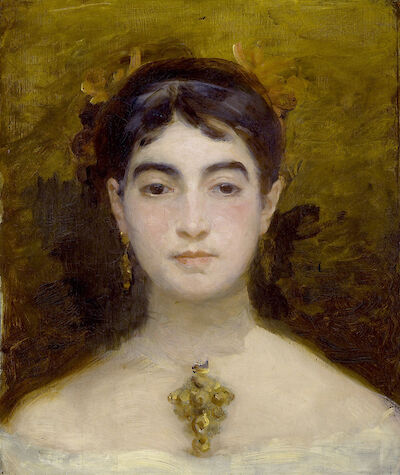 Portrait of Marie Bracquemond
