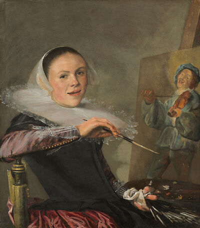 Portrait of Judith Leyster