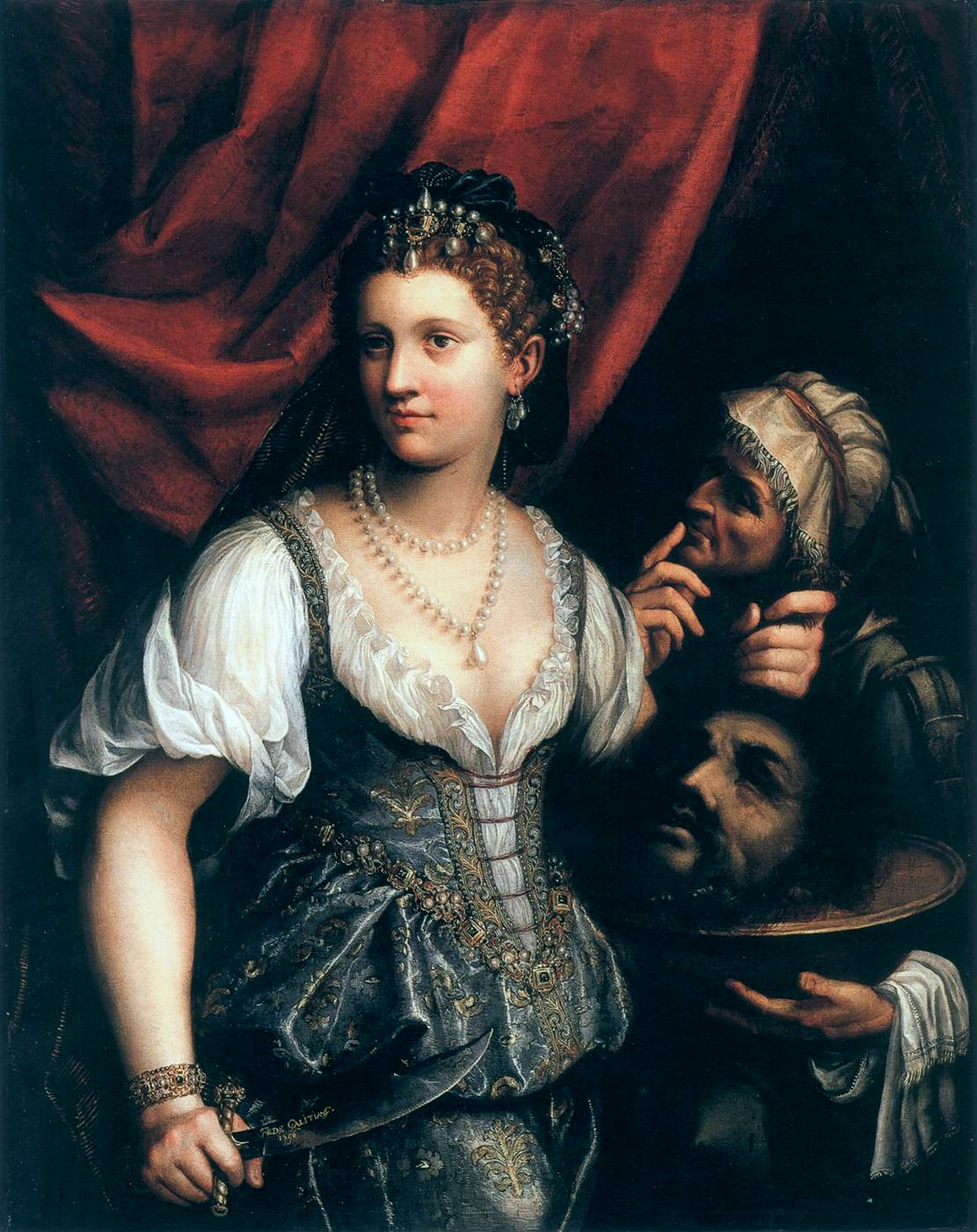Judith with the Head of Holophernes, 1596 — Fede Galizia