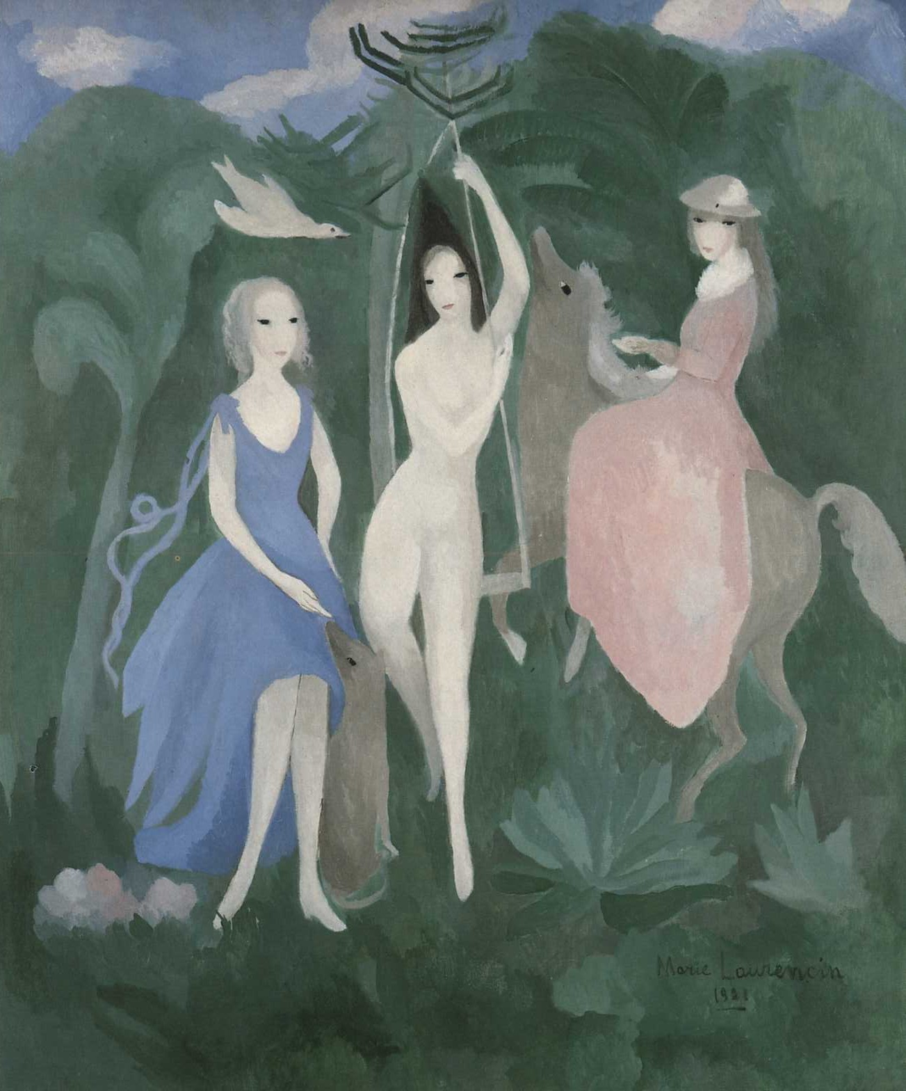 The Three Graces, 1921 — Marie Laurencin