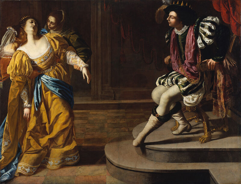 Esther before Ahasuerus, 1635, Artemisia Gentileschi