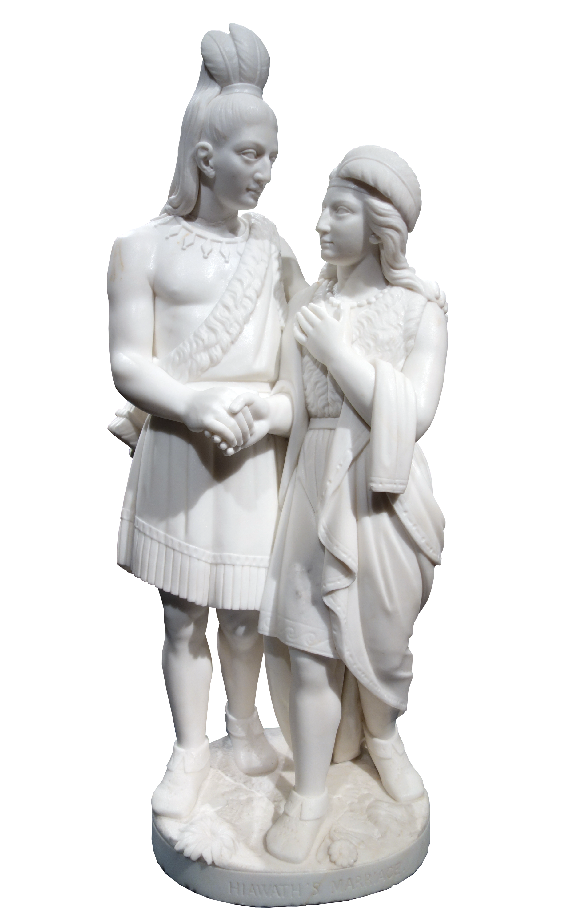 Hiawatha's Marriage, 1871 — Mary Edmonia Lewis