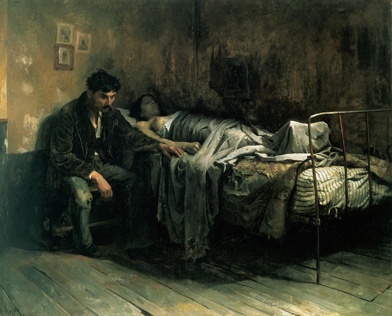 The Misery, 1886 — Cristóbal Rojas Poleo,