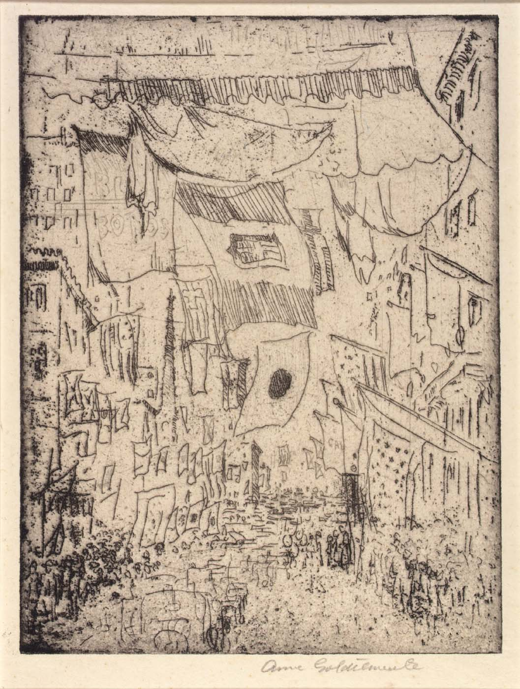 Avenue of the Allies (5th Avenue), 1918 — Anne Goldthwaite