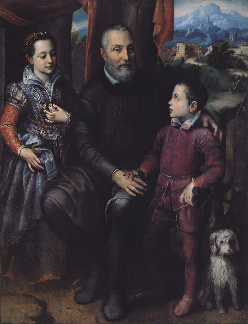 Portrait of the Artist's Family, 1558, Sofonisba Anguissola
