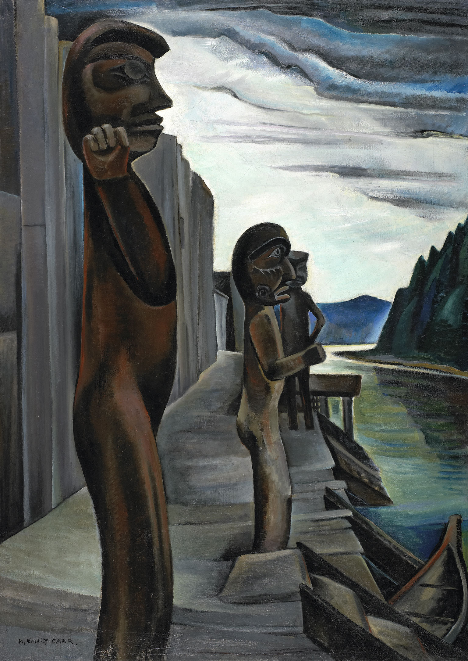 Blunden Harbour, 1930 — Emily Carr