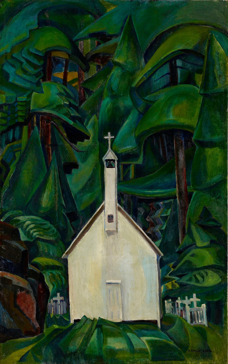 Indian Church, 1929, Emily Carr