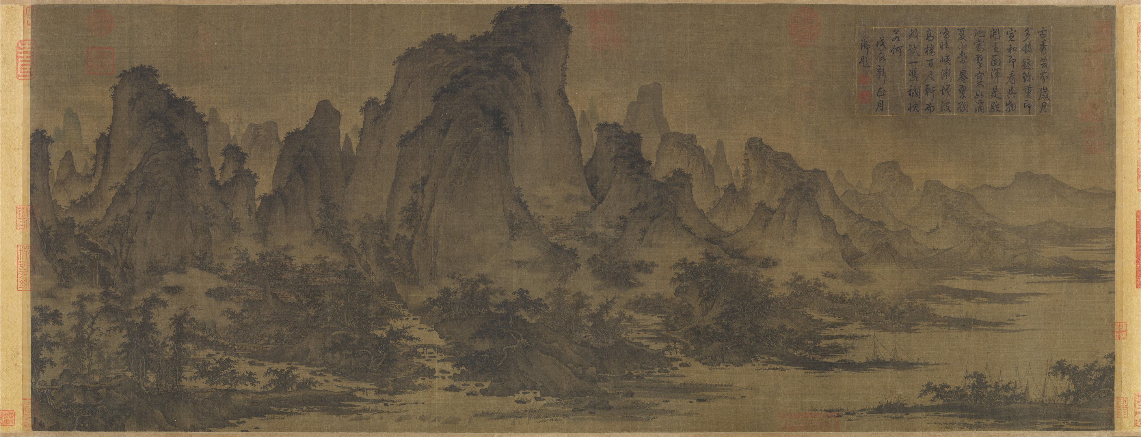 Summer Mountains, 1127 — Song Dynasty