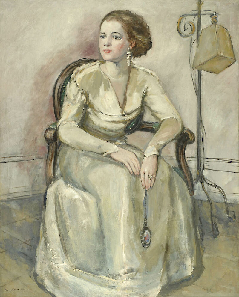 Portrait of Frances Greene Nix