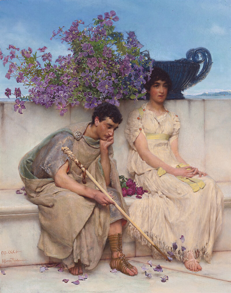 Portrait of Lawrence Alma-Tadema
