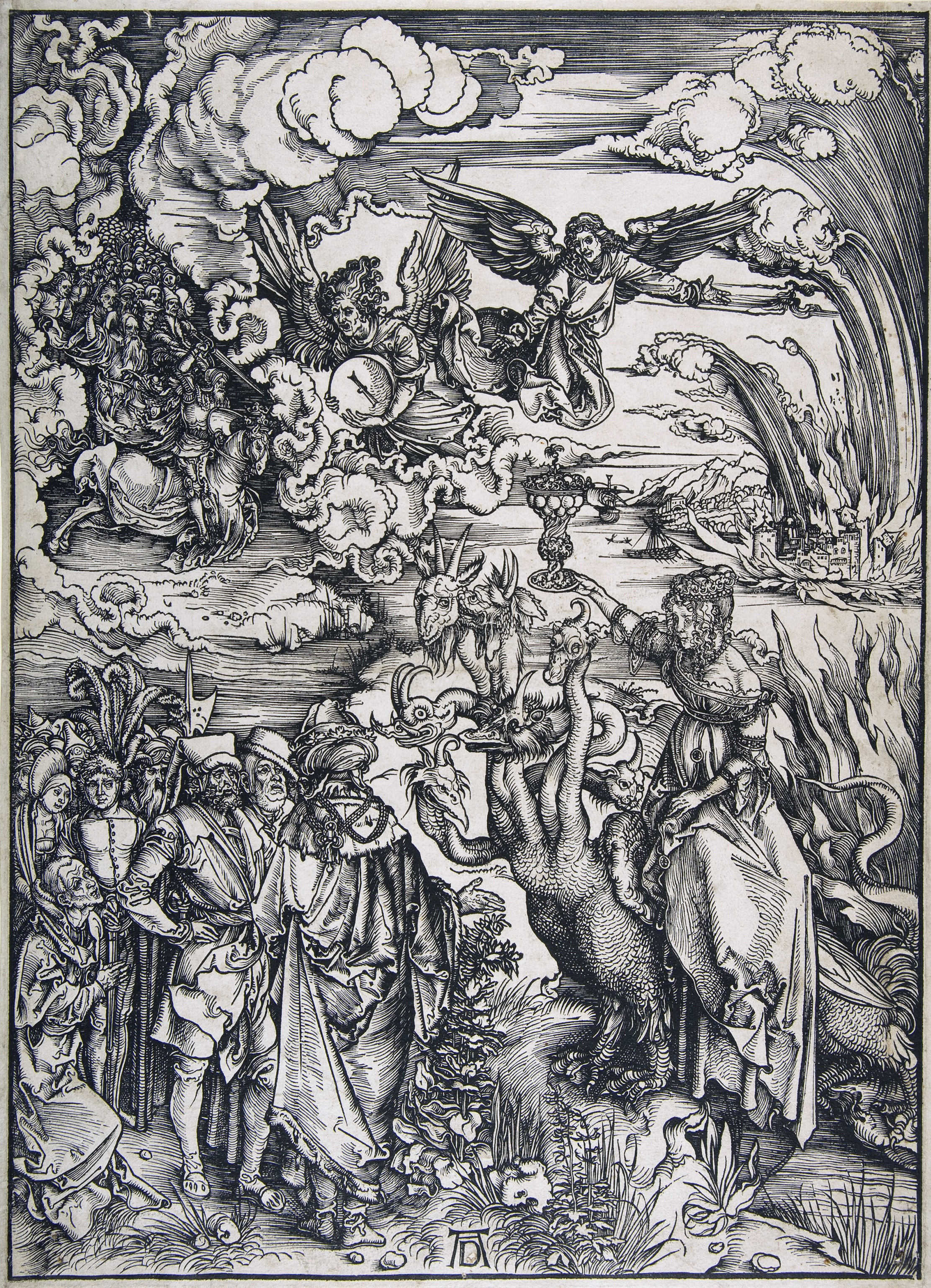 The Apocalypse — The Whore of Babylon, 1498 — Albrecht Dürer,