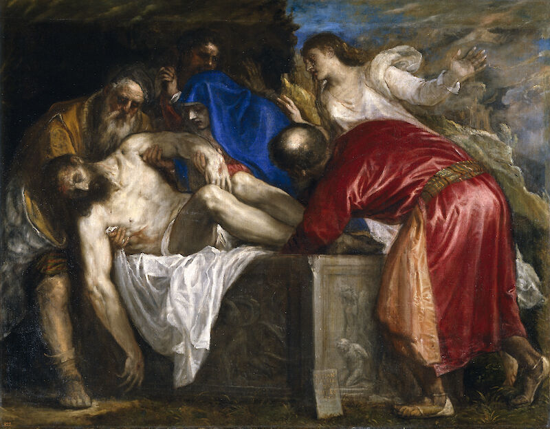 The Burial of Christ - 1559