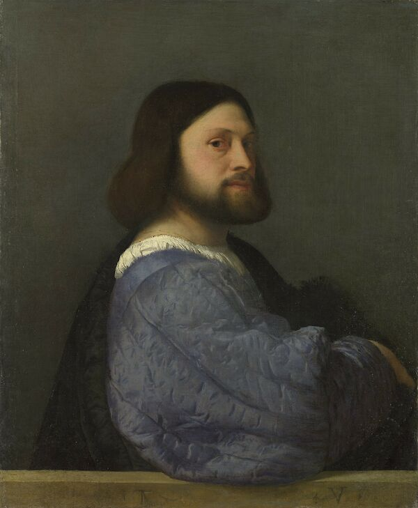 Man with a Quilted Sleeve