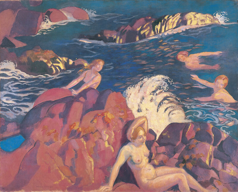 Wave, 1916, Maurice Denis