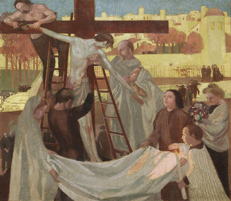 Descent from the Cross, 1901, Maurice Denis
