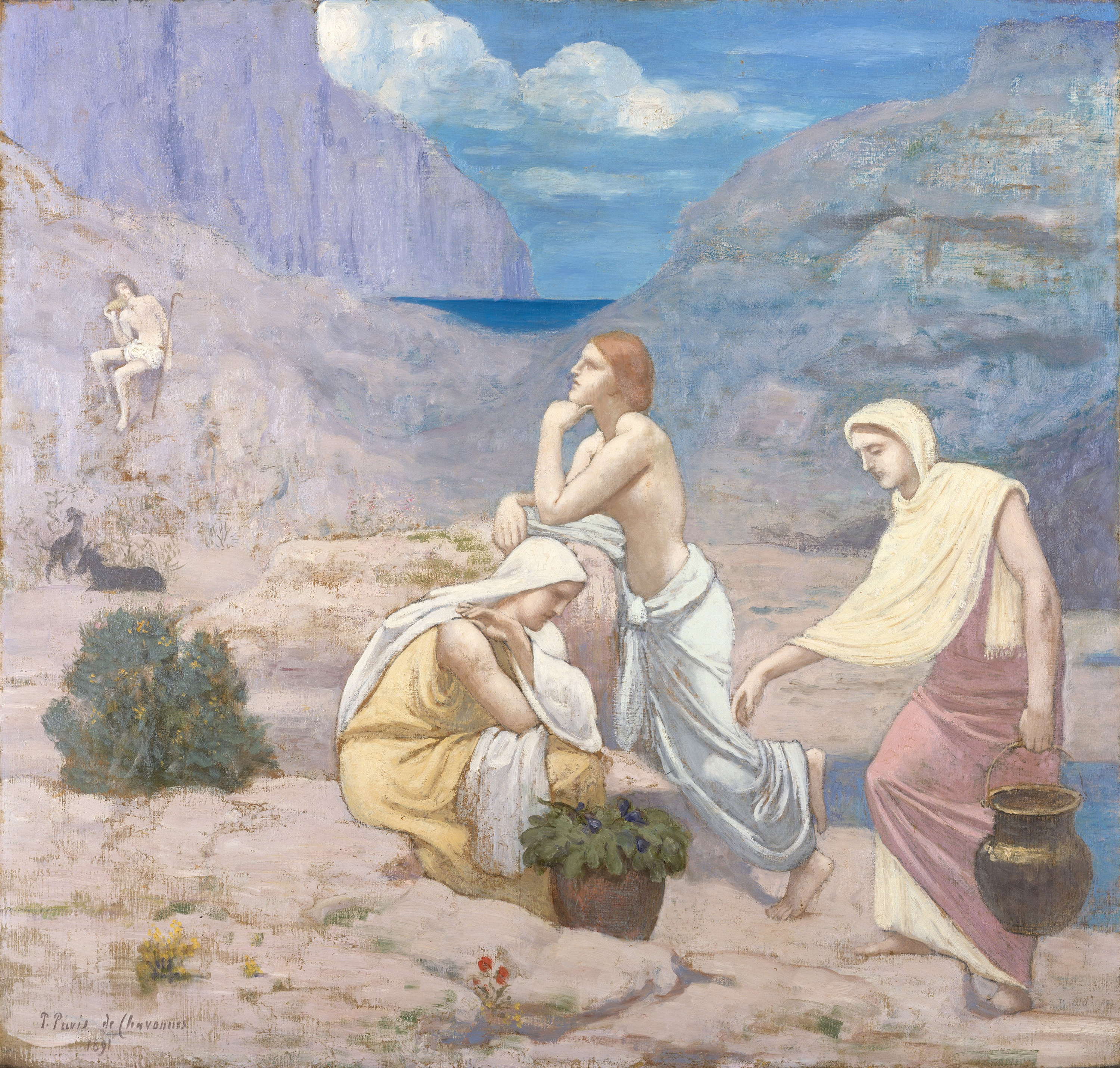 The Shepherd's Song, 1891 — Pierre Puvis de Chavannes