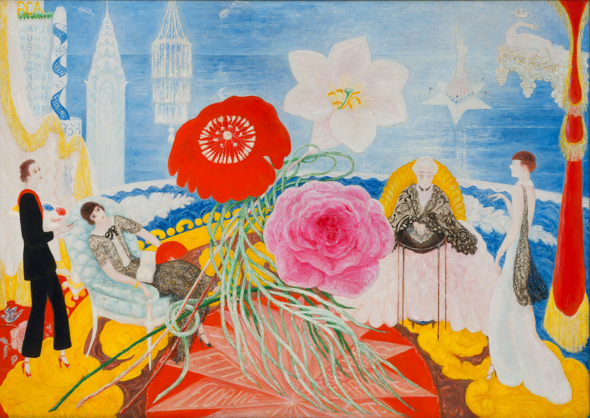 Florine Stettheimer 1871 1944 Biography And Artworks