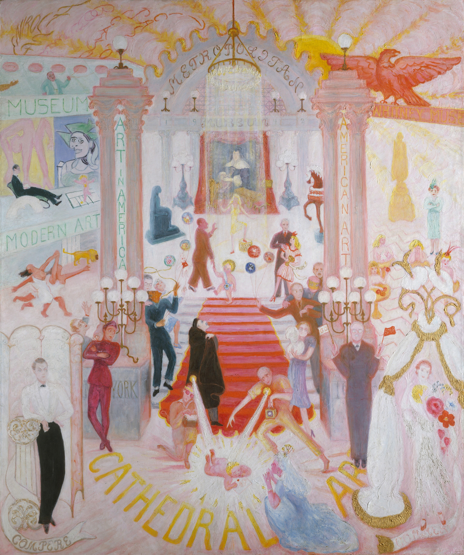 The Cathedrals of Art, 1942 — Florine Stettheimer